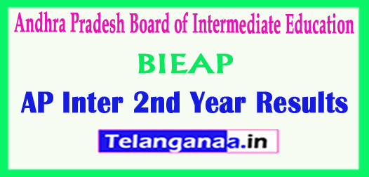 AP Inter 2nd Year Results Andhra Pradesh 2nd year 2018 Results