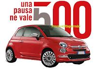 Logo Espresso Time: vinci gratis una Fiat 500