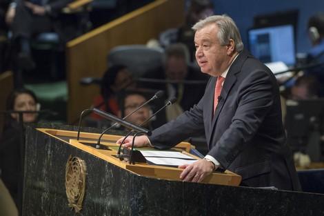 """غوتيريس: """"اتفاق باريس"""" لحماية المناخ في خطر"""