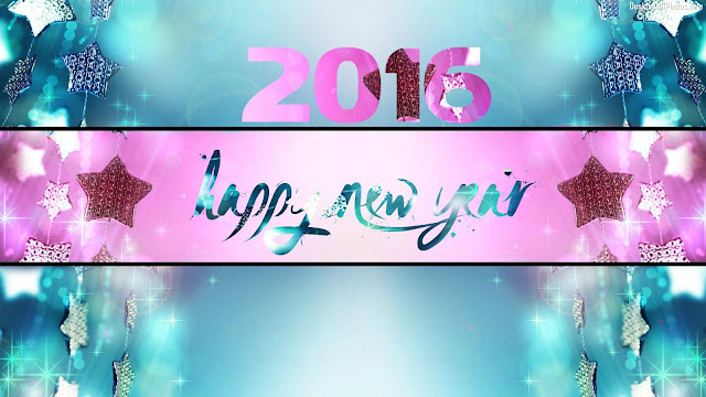 Free Download Happy New Year 2016 HD Wallpaper 33