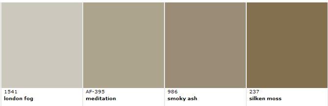 complementary colors for revere pewter. Black Bedroom Furniture Sets. Home Design Ideas