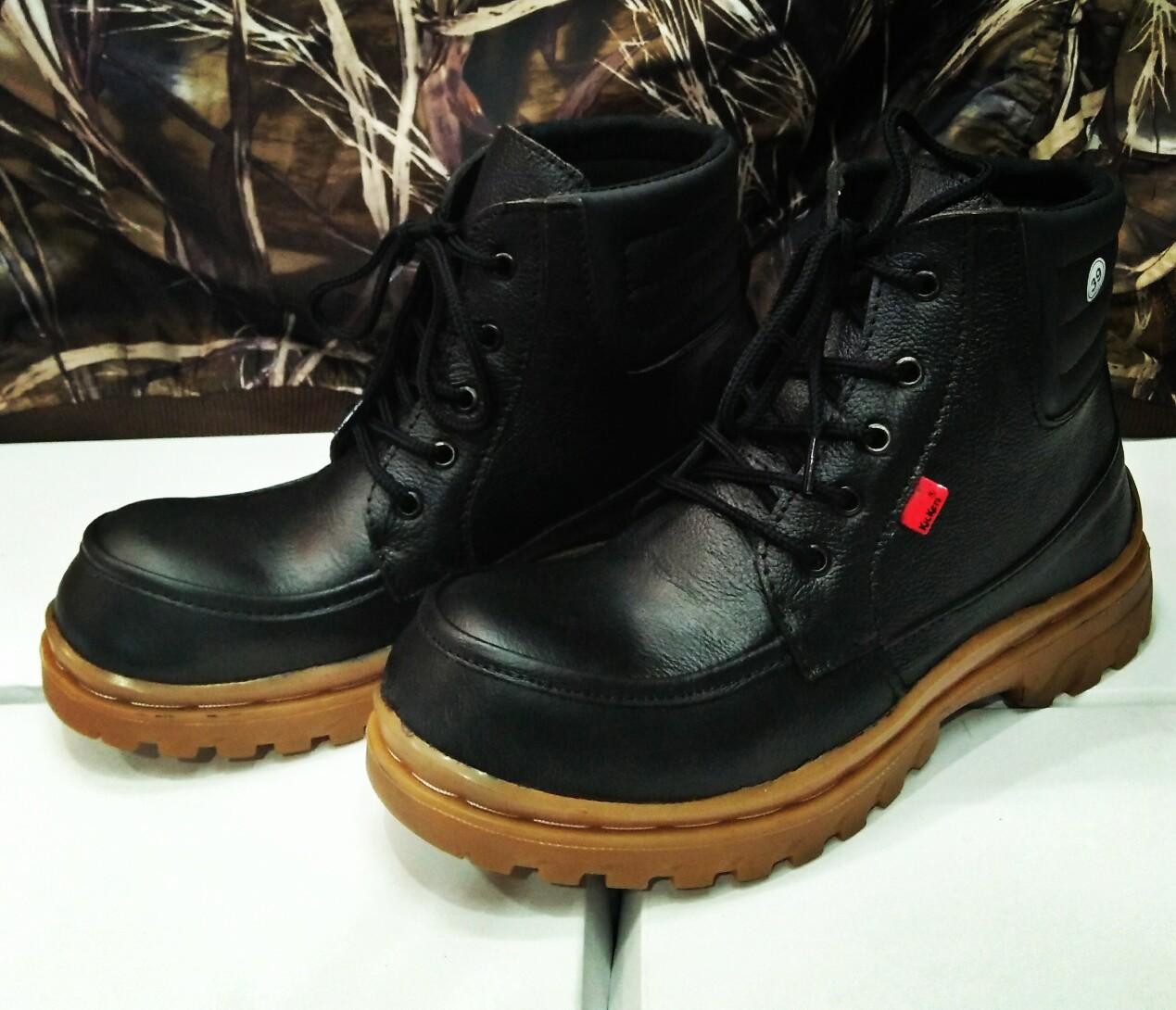 jual sepatu boot seafty kulit di bandung 085720401118 53b5e79c4b