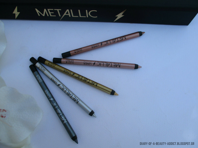 Dust & Cream Metallic Liner Lip'N'Eye