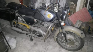 Dijual Motor Klasik Honda CB72 Full paper