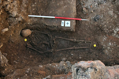 Grave of King Richard III recreated in 3-D