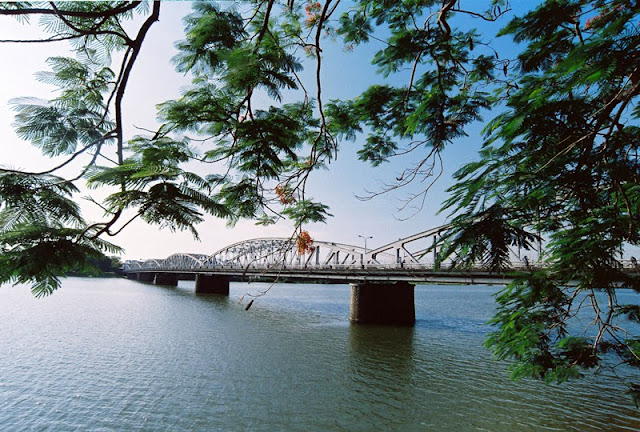 And quiet flows the Huong River 17