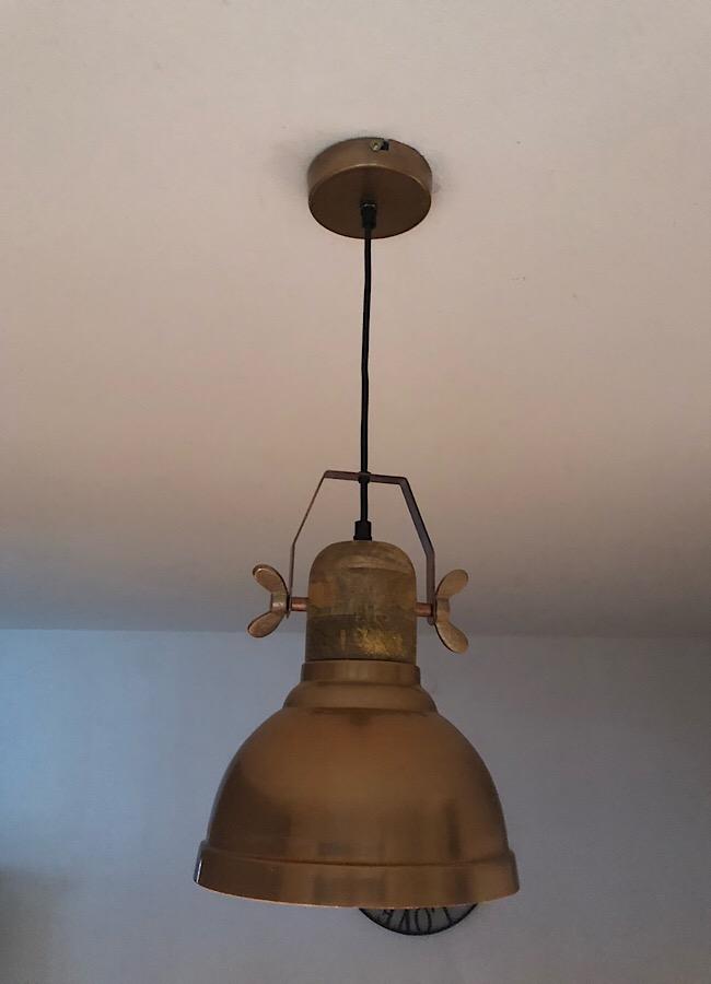 Lampe Industrial Landhaus
