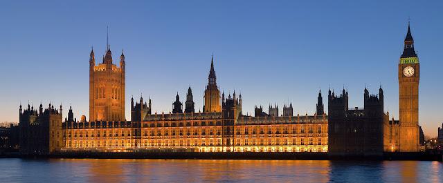 Resultado de imagen de Parlamento de Londres, de Pugin.