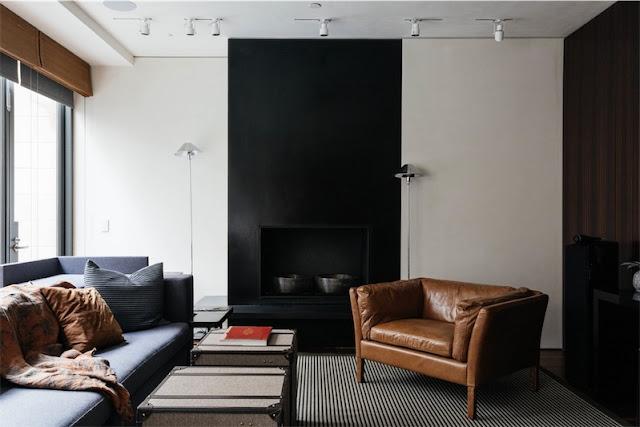 Una casa masculina en el West Village de Nueva York