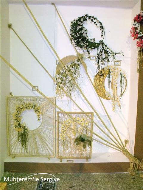 iğne oyasından çiçek motifleri