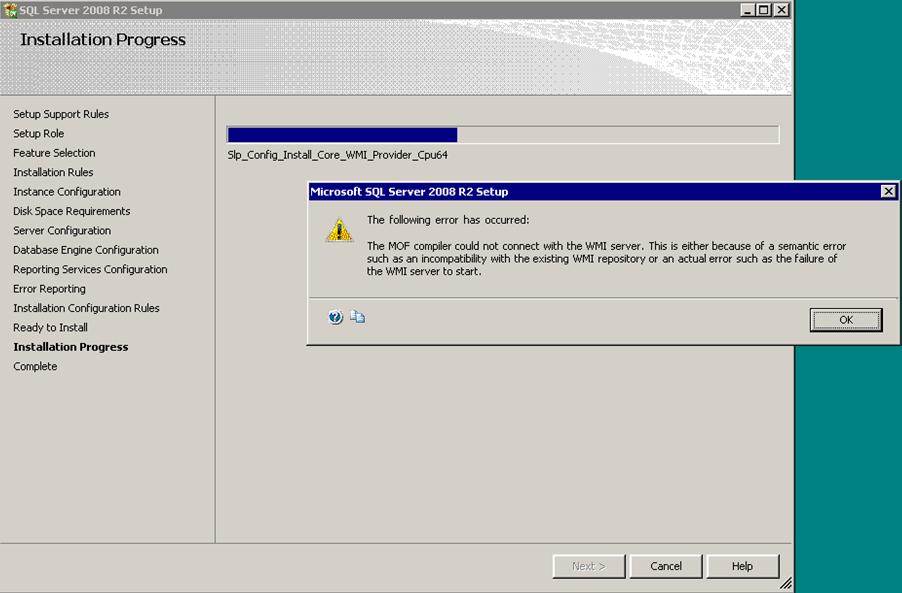 SQL Server DBA: Warning 26003 : Uninstall