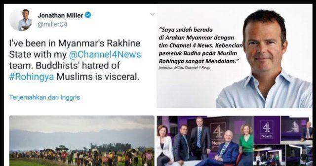 """Kesaksian Wartawan Inggris: """"Kebencian Pemeluk Budha (Myanmar) Pada Muslim Rohingya Sangat Mendalam"""""""