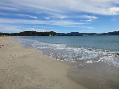 Cooks Beach, Península de Coromandel, Nueva Zelanda