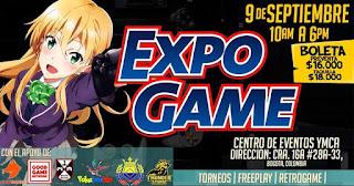 EXPO GAME Bogotá 2018