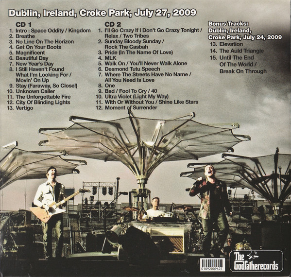 U2 Wide Awake In Europe