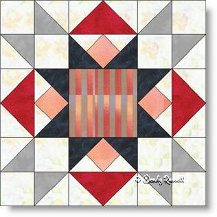 Best of All quilt block image © Wendy Russell