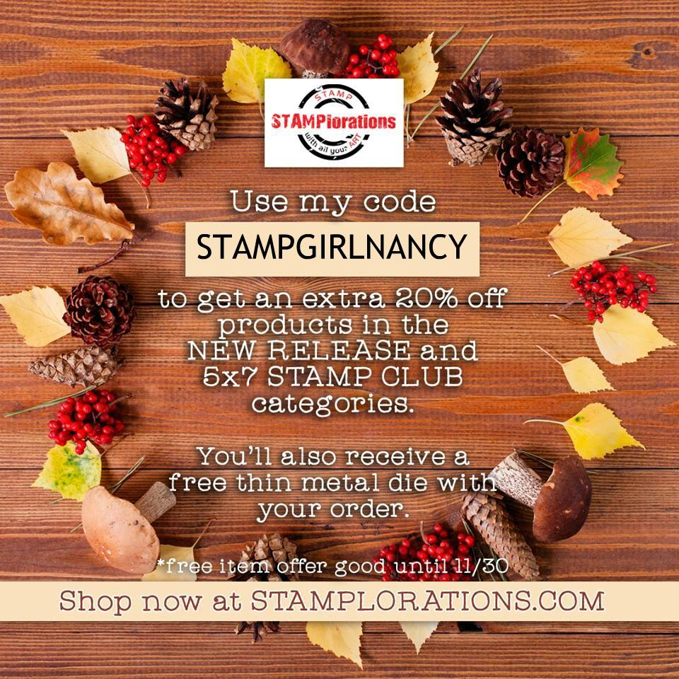 STAMPGIRLNANCY Discount Code