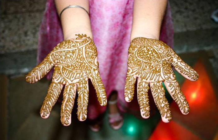 Punjabi Mehndi Design