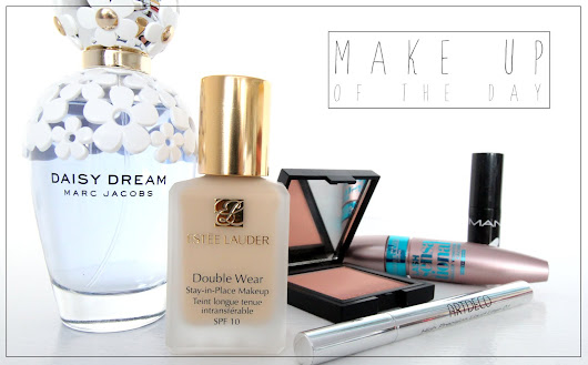 ESTÈE LAUDER DOUBLE WEAR FOUNDATION REWIEW & Make Up Of The Day