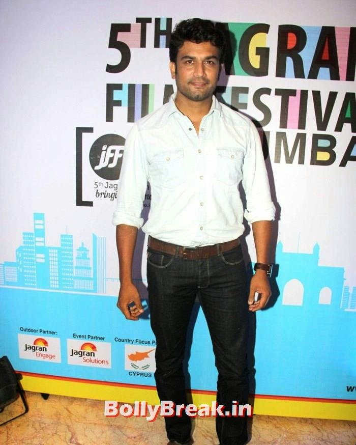 Sharad Kelkar, 5th Jagran Film Festival Red Carpet Pics