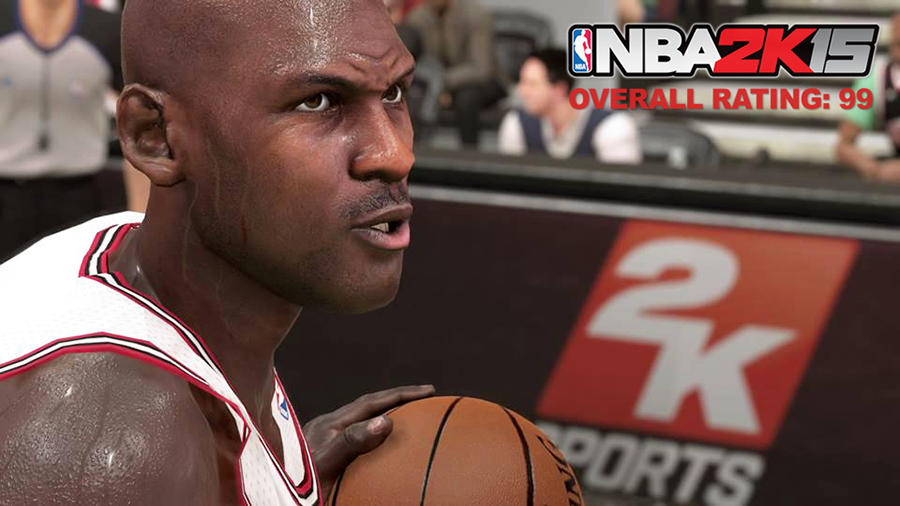 NBA 2K15 Overall Player Ratings List