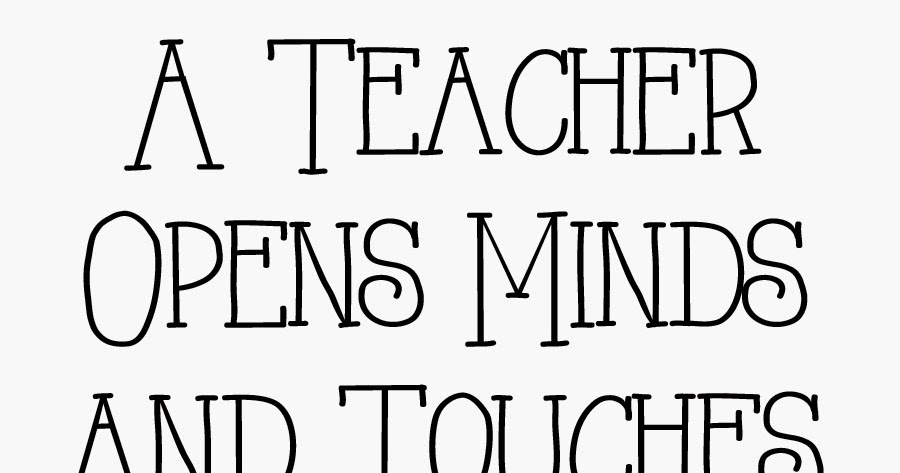 Life's Journey To Perfection: We Love Teachers!! Teacher