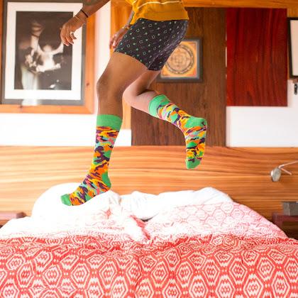 Happy Socks - Cor e Alegria na roupa interior