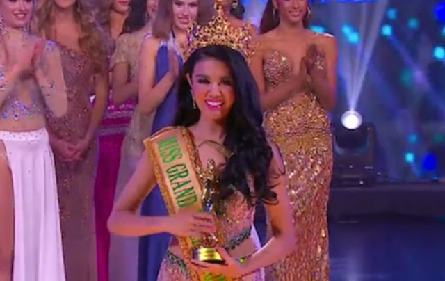 Ariska Putri Pertiwi, Wanita Indonesia Yang Memenangkan Miss Grand International 2016