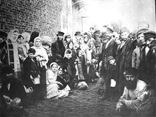 Jewish refugees, Liverpool, 1882