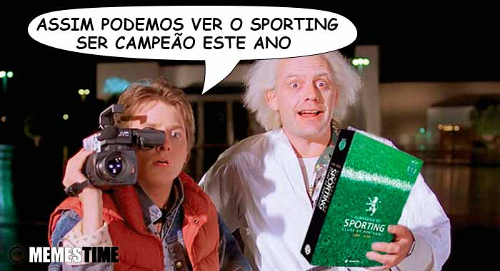 """GIF Memes Time… da bola que rola e faz rir - Foi publicado o """"Almanaque do Leão"""" com o historial de títulos do Sporting Clube de Portugal, escrito pelo jornalista Rui Miguel Tovar -  Assim podemos ver o Sporting ser campeão este ano"""