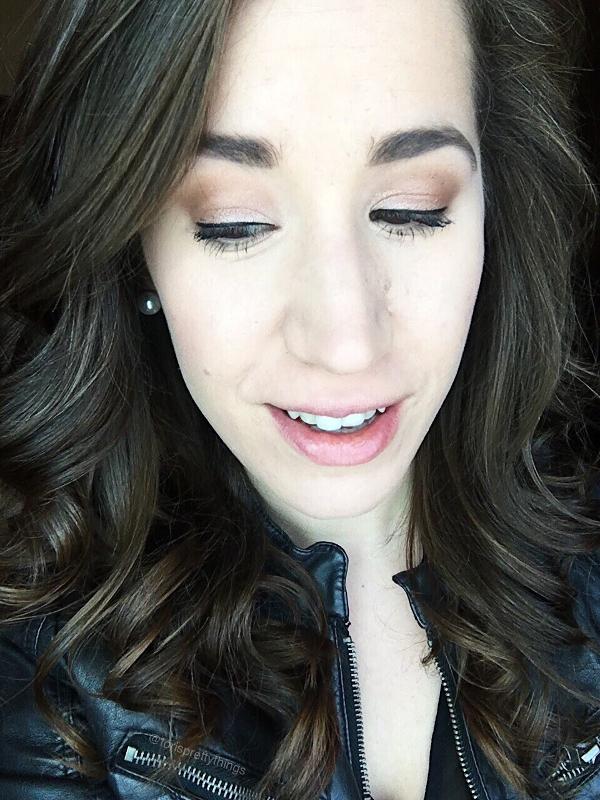 Brown smokey eye - Date Night Makeup - Tori's Pretty Things Blog