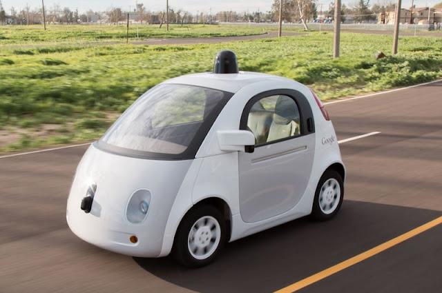 vezető nélküli autó - önjáró