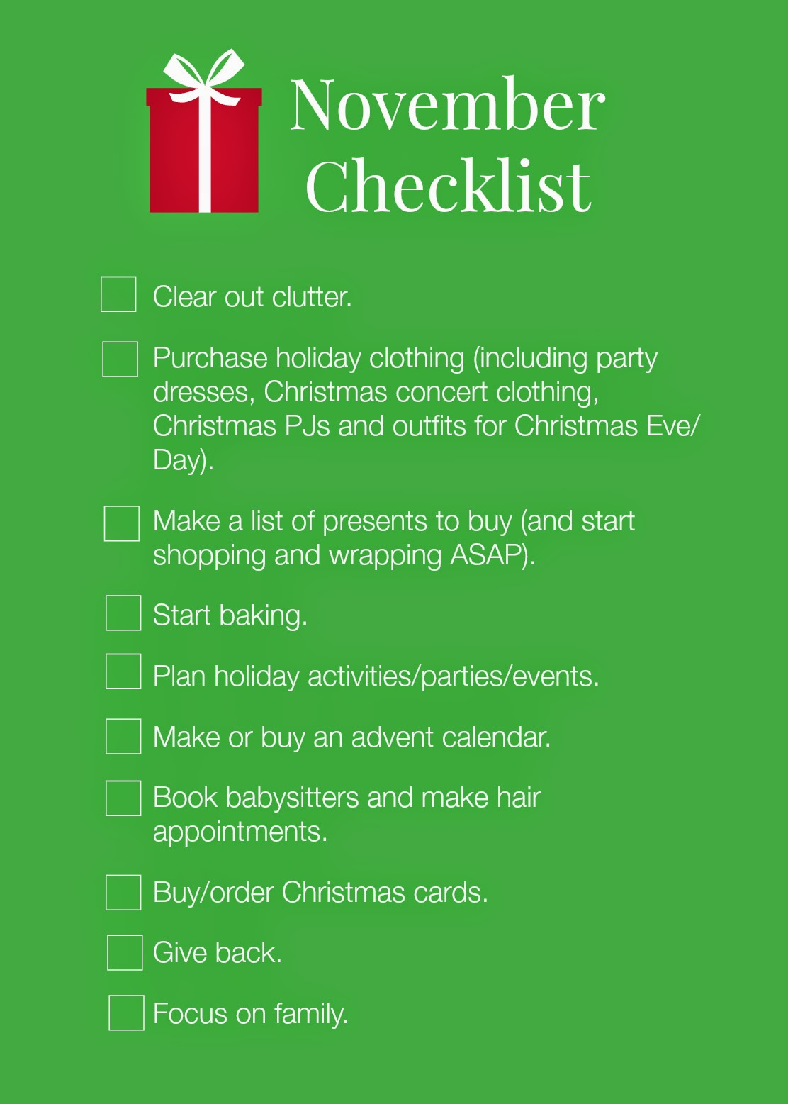 Things To Do On Christmas Day