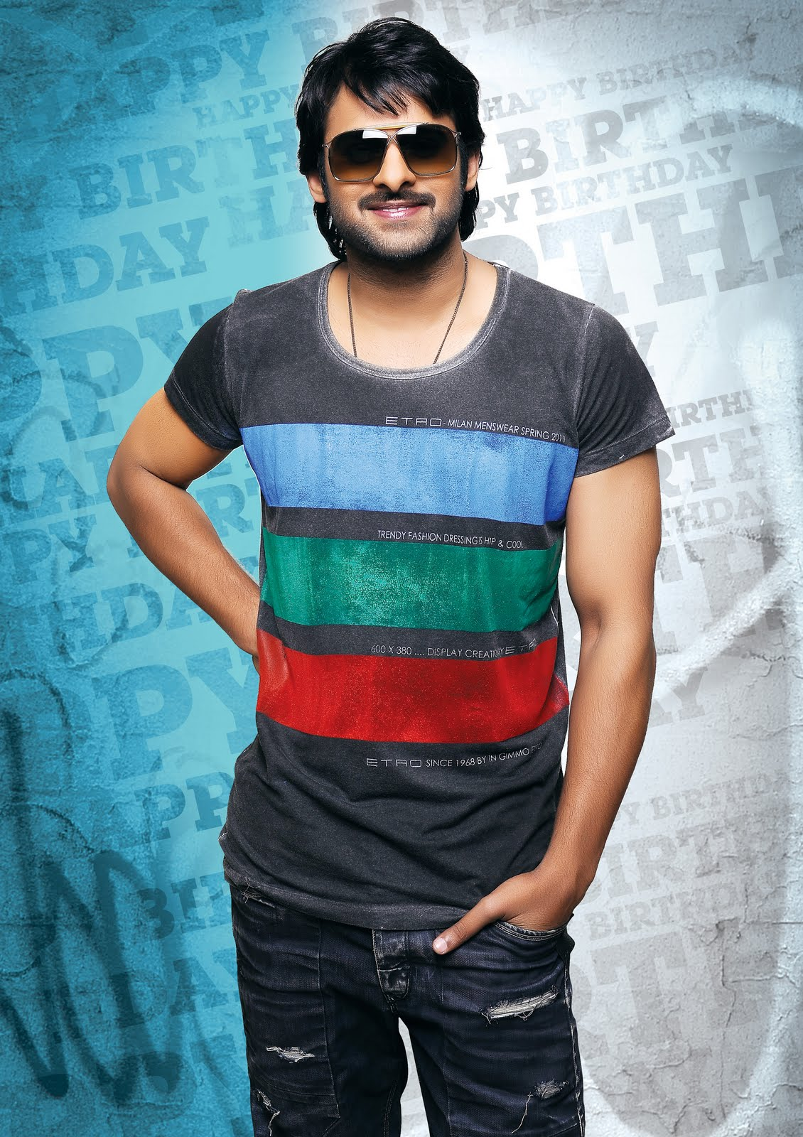 8 Pictures Of Prabhas With And Without Makeup Styles At Life