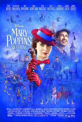 Sinopsis Film Mary Poppins Returns (2018).