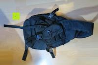 Rückseite: Lalawow Sling Bag taktisch Rucksack Daypack Fahrradrucksack Umhängetasche Schultertasche Crossbody Bag