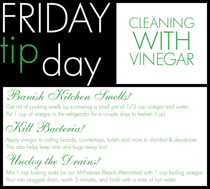 The Laundress Blog Friday Tip Day Cleaning With Vinegar