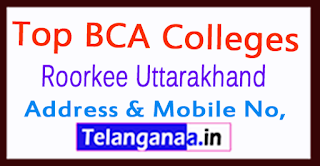 Top BCA Colleges in Roorkee Uttarakhand