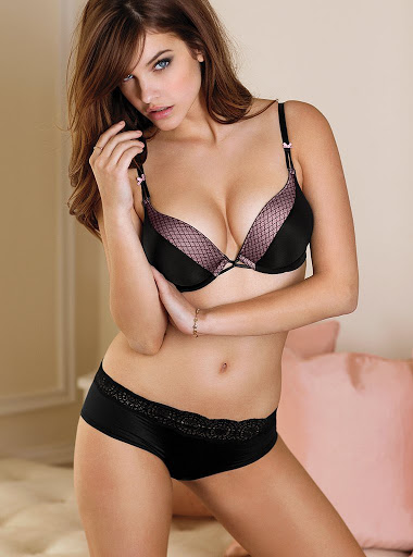 Barbara Palvin sexy lingerie model photo