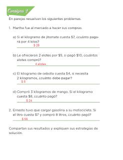 Respuestas Apoyo Primaria Desafíos Matemáticos 2do Grado Bloque 2 Lección 44 La feria
