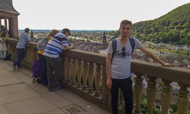Harun İstenci Almanya Heidelberg'de...