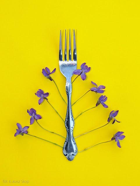 jadalne kwiaty fiołka