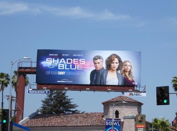 Shades of Blue 2016 Emmy consideration billboard