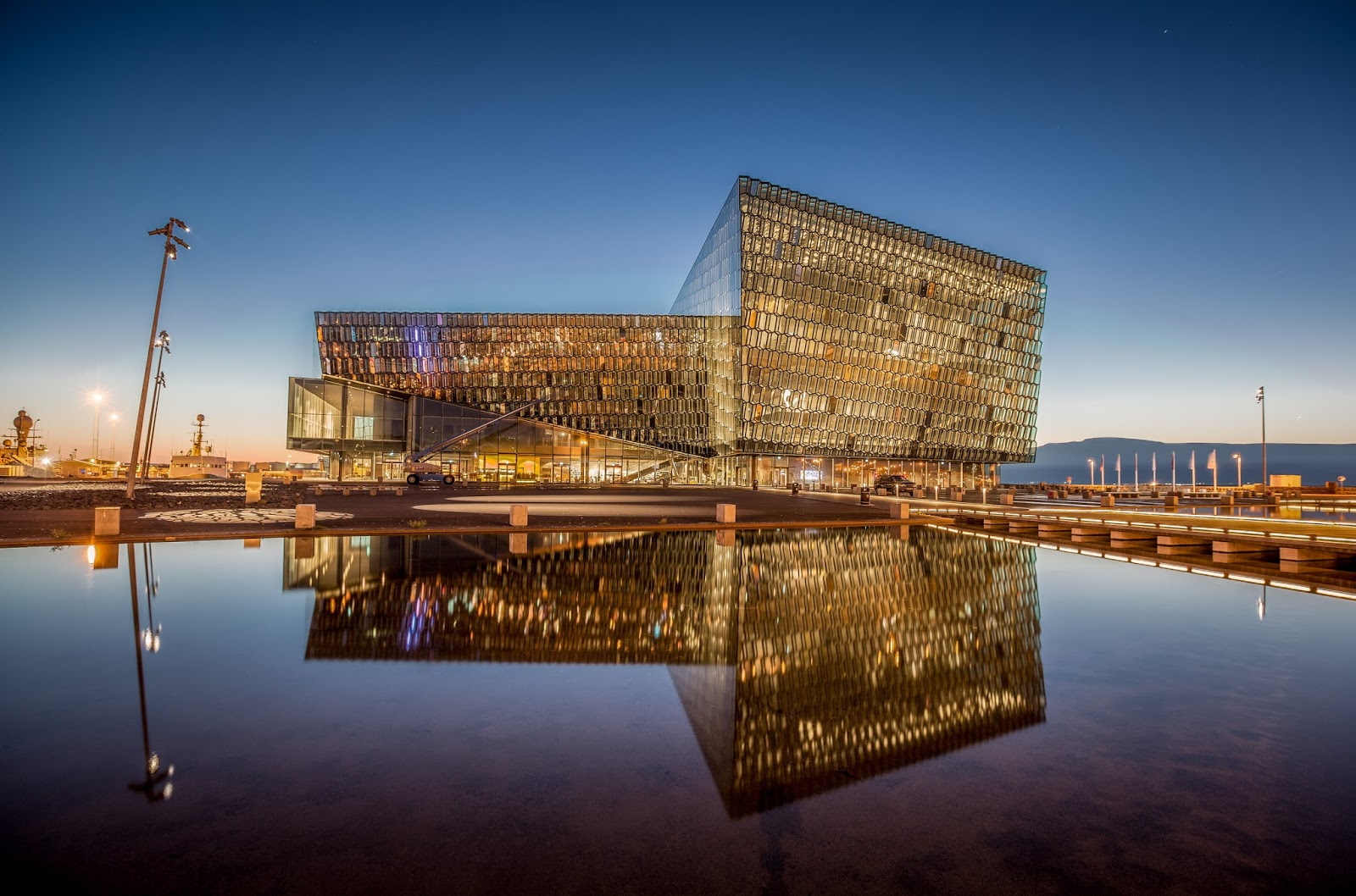 Family friendly Iceland: Harpa Concert Hall, Reykjavik
