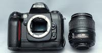Jual DSLR Nikon D100 Bekas