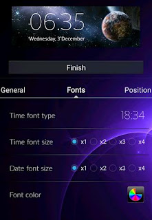 How to add a background photo on clock widget?