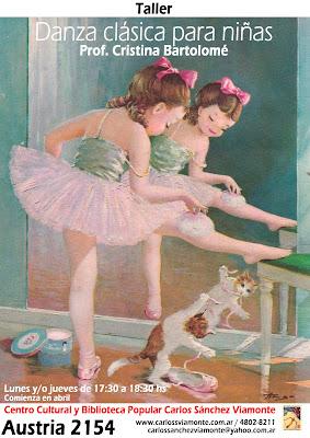 Taller de Danza Clásica para niñas