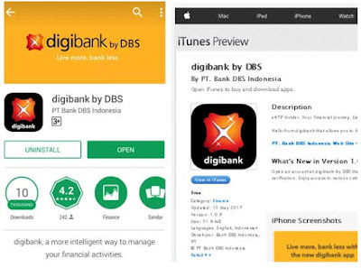 digibank by dbs android ios