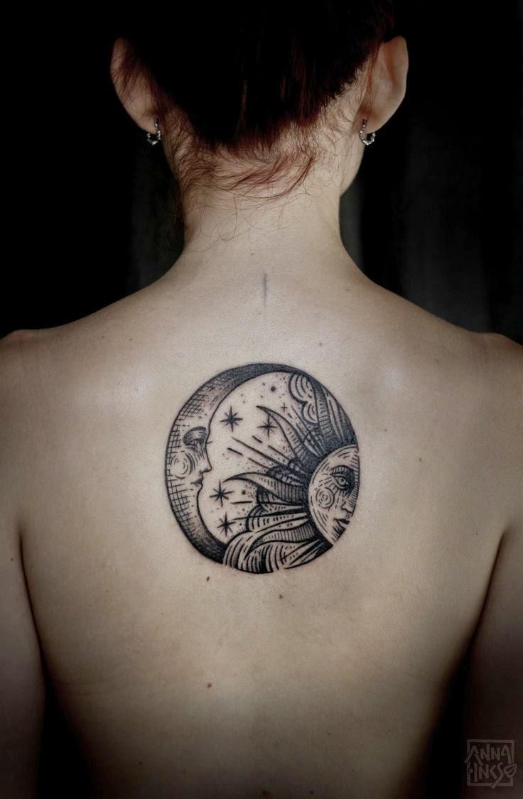 50 Tatuajes Increibles Del Sol Y La Luna Belagoria La Web De