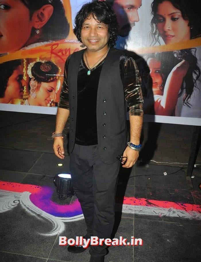 Kailash Kher, Pics from 'Rang Rasiya' Music Launch
